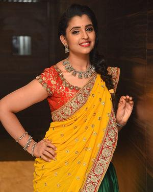 Syamala (Anchor) - Raja Vaaru Rani Gaaru Movie Pre Release Event Photos | Picture 1702382