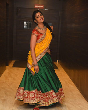 Syamala (Anchor) - Raja Vaaru Rani Gaaru Movie Pre Release Event Photos | Picture 1702377