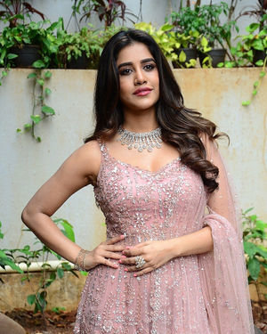 Nabha Natesh - Bellamkonda Sai Sreenivas New Movie Opening Photos | Picture 1702786