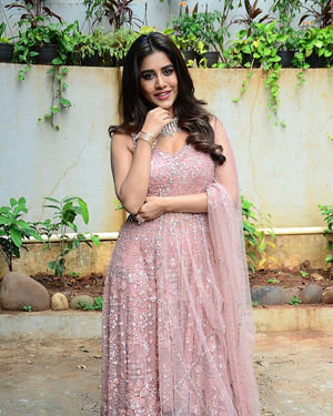 Nabha Natesh - Bellamkonda Sai Sreenivas New Movie Opening Photos | Picture 1702775