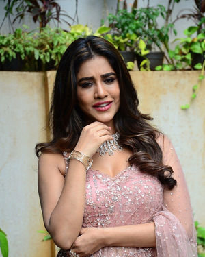 Nabha Natesh - Bellamkonda Sai Sreenivas New Movie Opening Photos | Picture 1702774