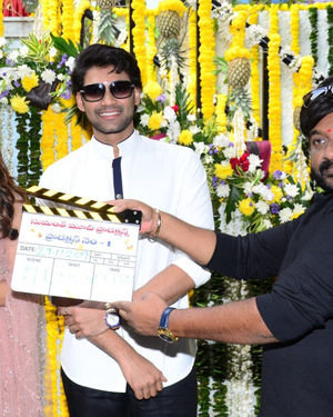 Bellamkonda Sai Sreenivas New Movie Opening Photos