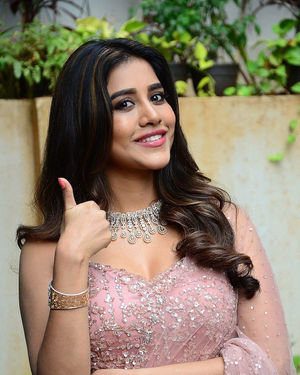Nabha Natesh - Bellamkonda Sai Sreenivas New Movie Opening Photos | Picture 1702773