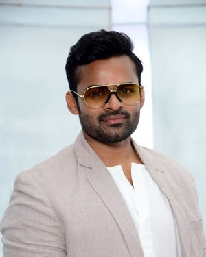 Sai Dharam Tej - Prathi Roju Pandage Movie Song Shoot Coverage And Press Meet Photos