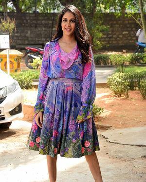 Lavanya Tripathi - Arjun Suravaram Movie Success Meet Photos | Picture 1703314