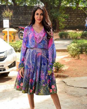 Lavanya Tripathi - Arjun Suravaram Movie Success Meet Photos | Picture 1703315