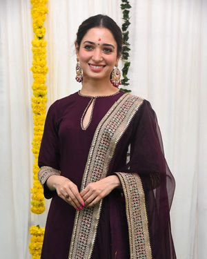 Tamanna Bhatia - Gopichand New Movie Launch Photos