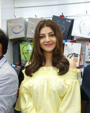Kajal Aggarwal - Launch Of HAPPI MOBILES 57th Store At Vizag Photos