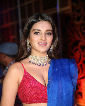 Nidhhi Agerwal - Zee Kutumbam Awards 2019 Photos