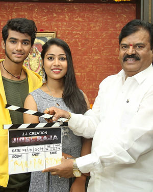 Jigel Raja Movie Opening Photos