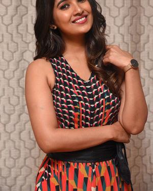 Vani Bhojan - Meeku Maathrame Cheptha Movie Trailer Launch Photos