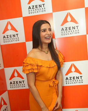Samantha Akkineni - AZENT Overseas Education Hyderbad Center Launch Photos | Picture 1682668