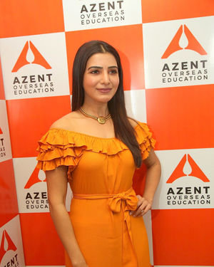 Samantha Akkineni - AZENT Overseas Education Hyderbad Center Launch Photos | Picture 1682667