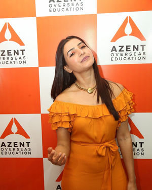 Samantha Akkineni - AZENT Overseas Education Hyderbad Center Launch Photos | Picture 1682665
