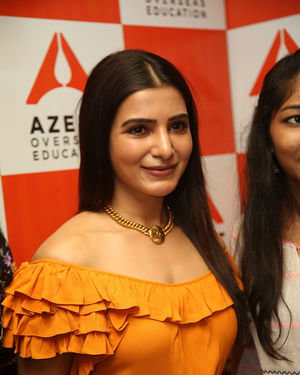 Samantha Akkineni - AZENT Overseas Education Hyderbad Center Launch Photos | Picture 1682672