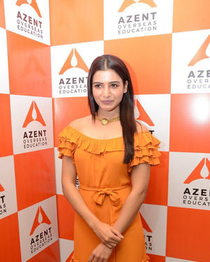 Samantha Akkineni - AZENT Overseas Education Hyderbad Center Launch Photos | Picture 1682678