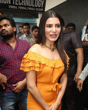Samantha Akkineni - AZENT Overseas Education Hyderbad Center Launch Photos | Picture 1682661