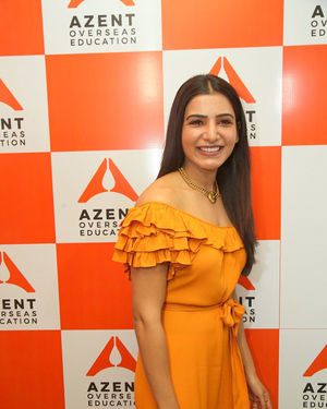 Samantha Akkineni - AZENT Overseas Education Hyderbad Center Launch Photos | Picture 1682669