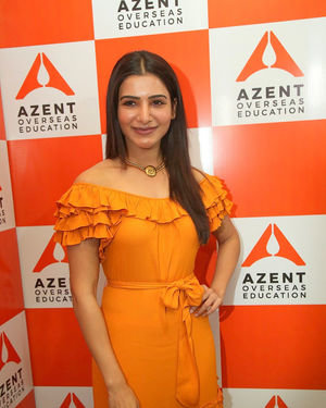 Samantha Akkineni - AZENT Overseas Education Hyderbad Center Launch Photos