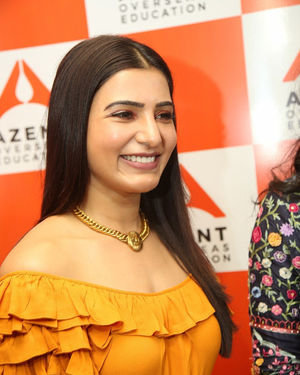 Samantha Akkineni - AZENT Overseas Education Hyderbad Center Launch Photos | Picture 1682663