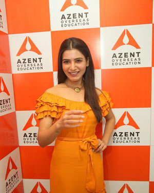 Samantha Akkineni - AZENT Overseas Education Hyderbad Center Launch Photos | Picture 1682666
