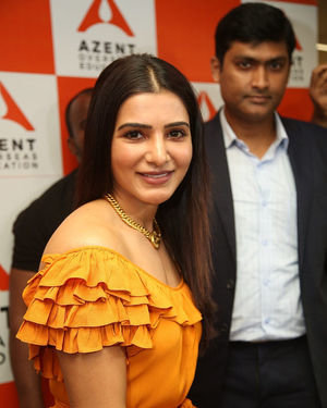 Samantha Akkineni - AZENT Overseas Education Hyderbad Center Launch Photos | Picture 1682671
