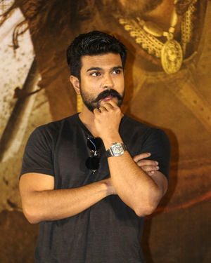 Ram Charan Teja - Sye Raa Narasimha Reddy Movie Trailer Launch Photos | Picture 1683350