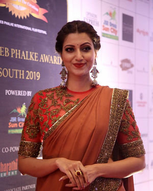 Hamsa Nandini - Dada Saheb Phalke Awards South 2019 Red Carpet Photos