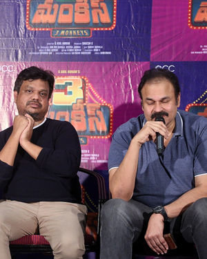 3 Monkeys Telugu Film First Look Launch Photos | Picture 1685341