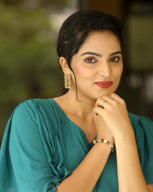 Sukrutha Wagle Photos At Ramachakkani Seetha Movie Interview | Picture 1685721