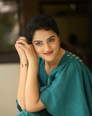 Sukrutha Wagle Photos At Ramachakkani Seetha Movie Interview | Picture 1685735
