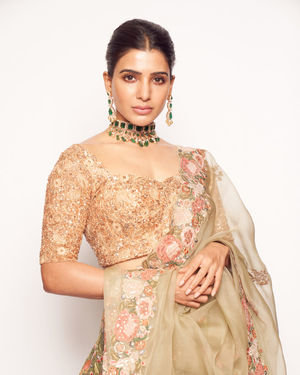 Samantha Akkineni - Photos: Shyamal Bhumika Launch First Ever Standalone Flagship Store In Hyderabad