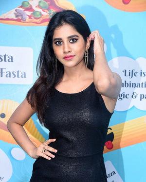 Nabha Natesh - Santosham Awards 2019 Curtain Raiser Event Photos