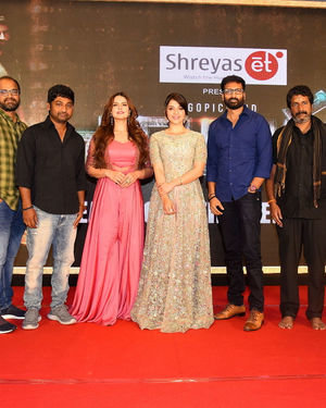 Chanakya Movie Trailer Launch Photos