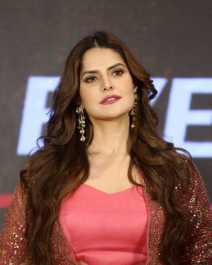 Zareen Khan - Chanakya Movie Trailer Launch Photos