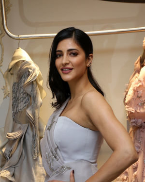 Shruti Haasan - Gaurav Gupta Fashion Store Launch Photos