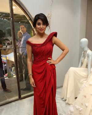 Shriya Saran - Gaurav Gupta Fashion Store Launch Photos
