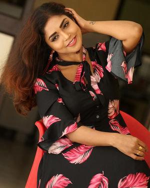 Karunya Chowdary - 3 Monkeys Telugu Movie Press Meet Photos | Picture 1718068