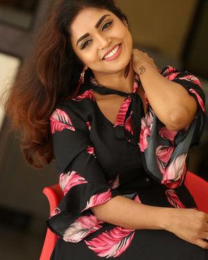 Karunya Chowdary - 3 Monkeys Telugu Movie Press Meet Photos | Picture 1718077