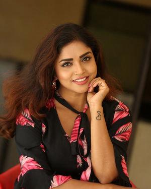 Karunya Chowdary - 3 Monkeys Telugu Movie Press Meet Photos | Picture 1718061