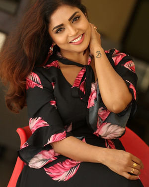 Karunya Chowdary - 3 Monkeys Telugu Movie Press Meet Photos | Picture 1718079