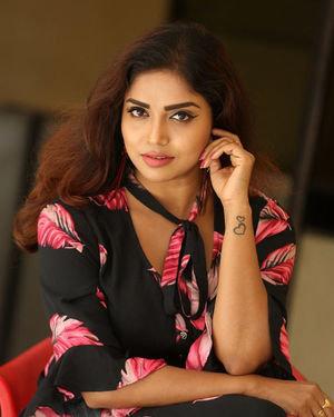 Karunya Chowdary - 3 Monkeys Telugu Movie Press Meet Photos | Picture 1718058