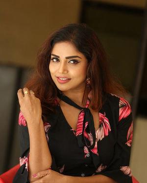 Karunya Chowdary - 3 Monkeys Telugu Movie Press Meet Photos | Picture 1718064