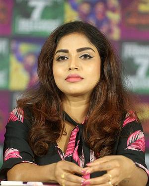 Karunya Chowdary - 3 Monkeys Telugu Movie Press Meet Photos | Picture 1718089