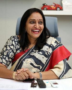Producer Usha Mulpuri At Aswathama Movie Interview Photos | Picture 1718245
