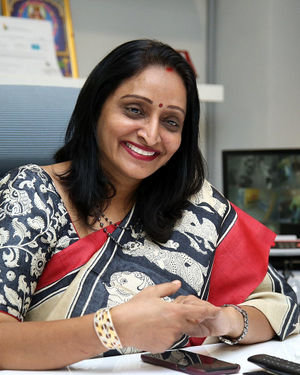 Producer Usha Mulpuri At Aswathama Movie Interview Photos | Picture 1718247