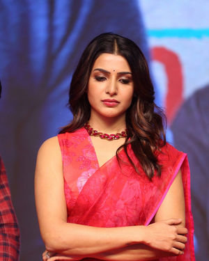 Samantha Akkineni - Jaanu Telugu Movie Pre Release Event Photos