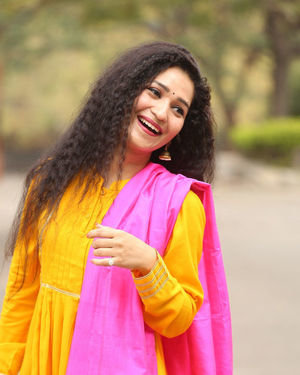 Garima Singh - Oka Chinna Viramam Movie Press Meet Photos | Picture 1718539