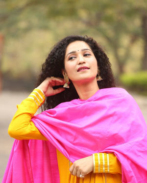 Garima Singh - Oka Chinna Viramam Movie Press Meet Photos | Picture 1718531