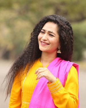 Garima Singh - Oka Chinna Viramam Movie Press Meet Photos | Picture 1718537